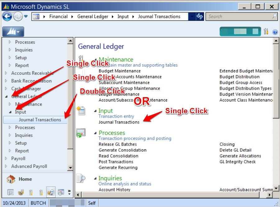 how to open microsoft dynamics