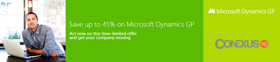 Save up to 45% on Microsoft Dynamics GP