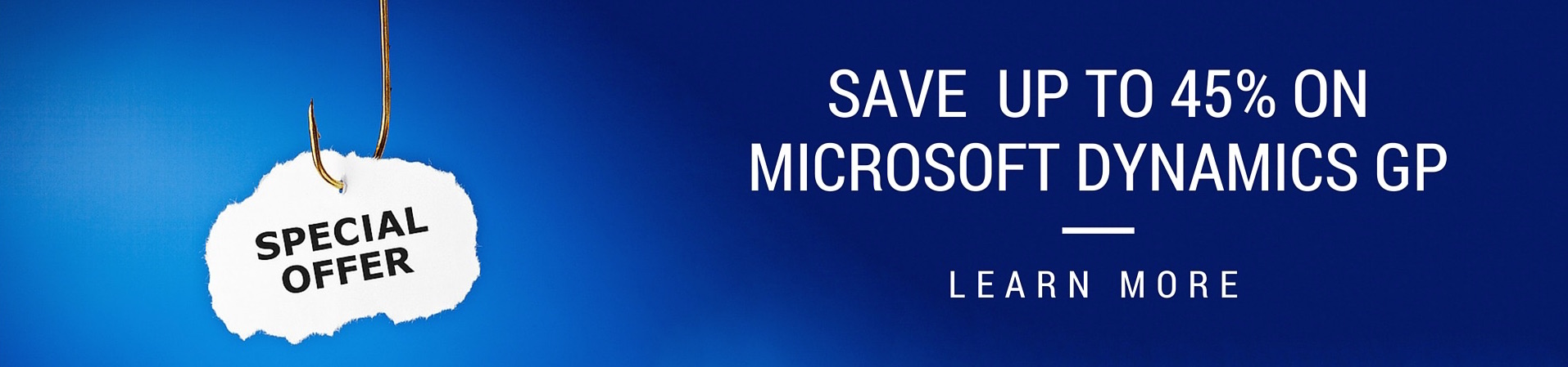 Special offer promotion for Microsoft Dynamics GP from Conexus SG Dallas ERP consultants